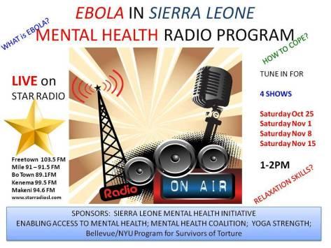 Ebola - Mental Health Program
