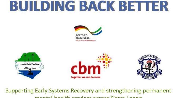 GIZ/Building Back Better Project | Mental Health Coalition – Sierra